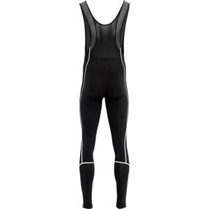moški elastični zima hlače Silvini RUBENZA MP1317 črna, Silvini