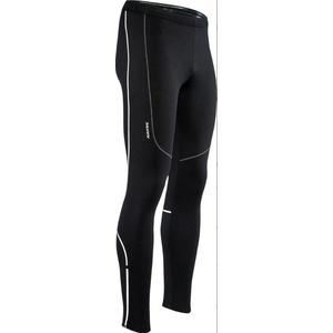 moški elastični topla hlače Silvini RUBENZA MP1313 črna, Silvini