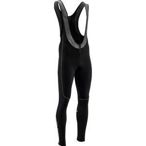 moški elastični zima hlače Silvini RUBENZA MP1321 črna zelena, Silvini