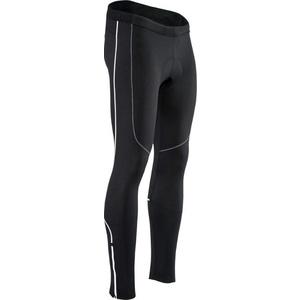 moški elastični topla hlače Silvini RUBENZA MP1319 črna, Silvini