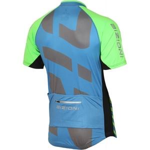 ciklo majica Lasting MD74 modro-zelena, Lasting
