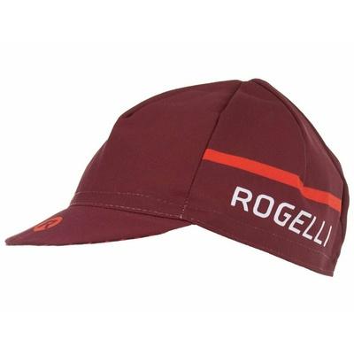 Kolesarska kapa pod čelado Rogelli HERO, bordo rdeča 009.973