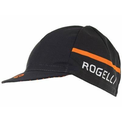 kolesarji cap spodaj čelada Rogelli HERO, črno-oranžna 009.974