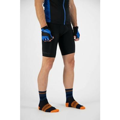 Oblikovanje funkcishelna nogavice Rogelli STRIPE, oranžno modra 007.205, Rogelli