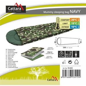 spanje torba mamica Cattara NAVY 10°C, Cattara