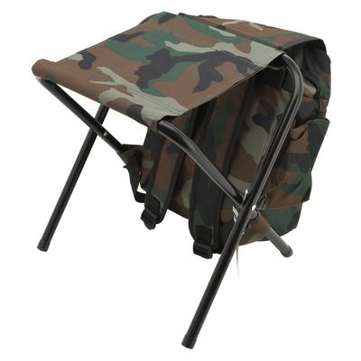 stol zložljiva z nahrbtnik Cattara OLBIA ARMYR, Cattara