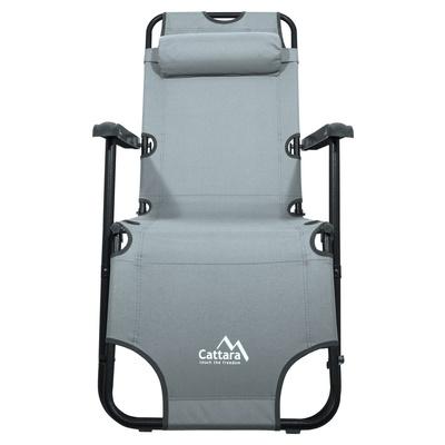 Ležalnik/sedež Cattara COMFORT siva, Cattara