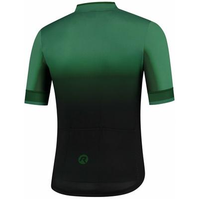 Oblikovanje cyklodresy Rogelli HORIZON z kratko rokav, črno-zelena 001.417, Rogelli