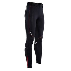 moški elastični hlače Silvini MOVENZA MP1312 črna rdeča, Silvini