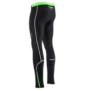 moški elastični topla hlače Silvini RUBENZA MP1319 črna zelena, Silvini