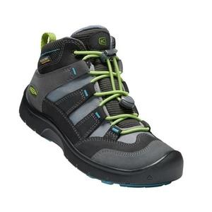 Otroci čevlji Keen Hikeport MID pas WP Y, magnet / zeleno, Keen