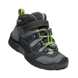 Otroci čevlji Keen Hikeport MID pas WP C, magnet / zeleno, Keen