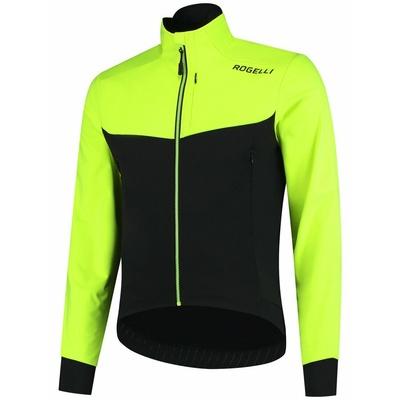 svetloba in dodatno diha mehka lupina jakna Rogelli VSEBINA 2.0 z moderno podrobnosti, črna odsevna oranžna 003.143, Rogelli