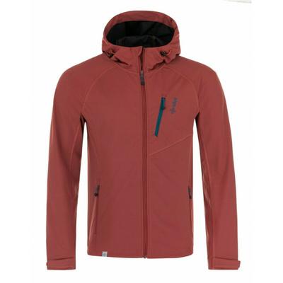 Moška softshell jakna Kilpi CAMPO-M temno rdeča, Kilpi