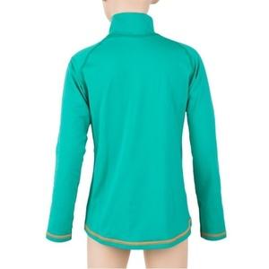 Otroci majica Sensor Thermo dl.rukáv zip svetlo zelena / ufo, Sensor