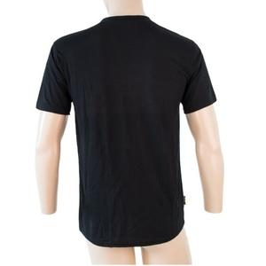 moški majica Sensor MERINO ACTIVE PT LABEL kr.rukáv črna 18200015, Sensor