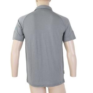 moški pol majica Sensor Merino Aktivno, siva 19100003, Sensor