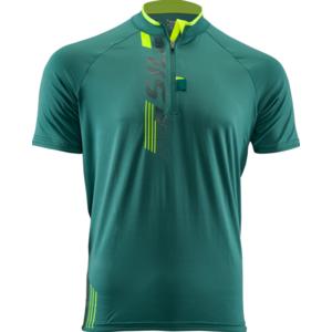 moški MTB majica Silvini Turan MD1013 olivno-neon, Silvini