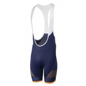 ciklo kratke hlače Rogelli RITMO z gel podloga, modro-oranžna 002.265., Rogelli