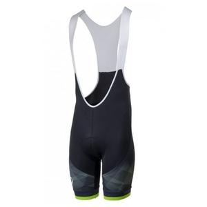 kolesarjenje kratke hlače Rogelli ISPIRATO 2.0 z gel kolesarjenje, črno-odsevni zelena 002.399., Rogelli