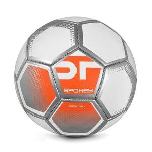 Spokey MERCURY nogomet žoga vel. 5 belo-oranžna, Spokey