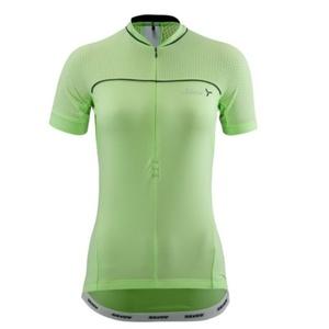 ženski kolesarjenje majica Silvini CATIRINA WD1002 apno, Silvini