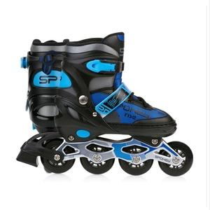 Spokey RISE rolerji skate urejeno, ABEC 7 Carbon črno-modra, vel. 39-43, Spokey