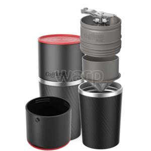 Outdoorovy aparat za kavo Cafflano Klassic črna, Cafflano