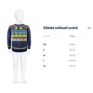 Otroški Merino pulover Kama 1011 114, Kama