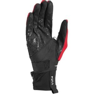 Skialpinistické rokavice LEKI Tour Mezza V plus Glove black / rdeča / bela 649818301, Leki