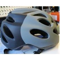 kolesarji čelada za odrasla oseba Spokey PREVERJANJE 58-61 cm, siva, Spokey