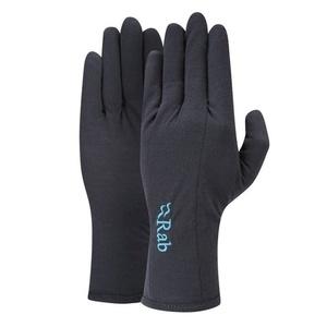 rokavice Rab Merino+ 160 Glove ženske ebony, Rab