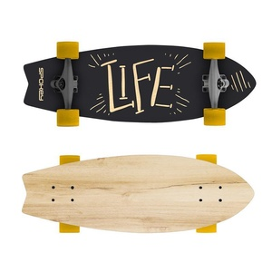 Longboard Spokey ŽIVLJENJE 67,5 x 25,5 cm ABEC7, Spokey