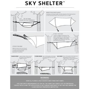 Šotor penthouse Klymit Sky Shelter zelena, Klymit