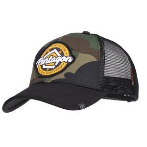 cap PENTAGON® Era Trucker taktično Športna oblačila ZDA gozdni, Pentagon