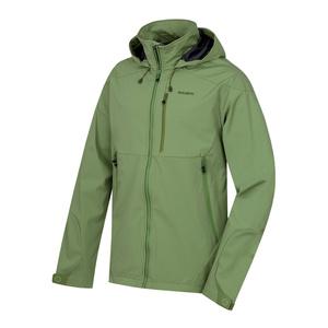 moški softshell jakna Sauri M tm.zelená, Husky