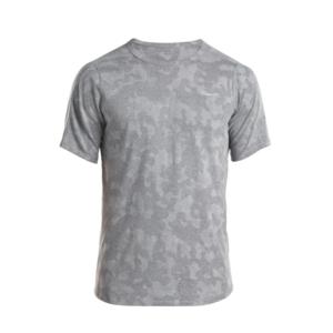 moški majica z kratko rokav Saucony moški Negativno-Splt Žakard Ss Dark siva, Saucony