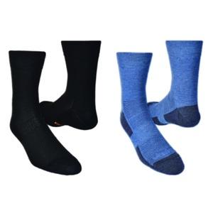 nogavice LIGHTTREK CMX 2pack 28327-83 črna + modra