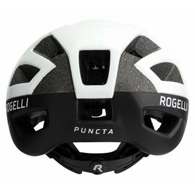 Čelada Rogelli PUNCTA, črna in bela ROG351055, Rogelli