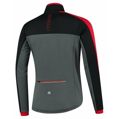 Moški zimska jakna Rogelli Freez vz sivo-črno-rdeča ROG351022, Rogelli