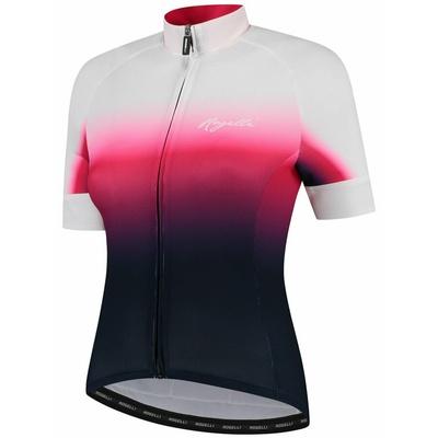 ženski premium cyklodresy Rogelli DREAM z kratko rokav, modro-roza-bela 010.091, Rogelli
