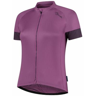 ženski kolesarjenje majica Rogelli MODESTA z kratko rokav, vijolična 010.119, Rogelli