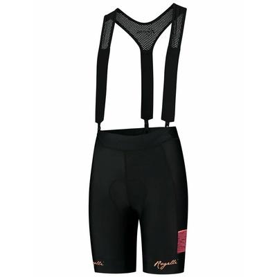 ženske kolesarjenje kratke hlače Rogelli ČAR 2.0 z gel podloga, črno-koralna 010.291, Rogelli