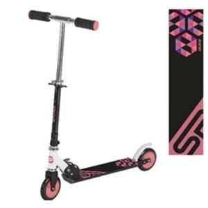 Skuter Spokey VACAY kolesa 145 mm, črna in roza, Spokey