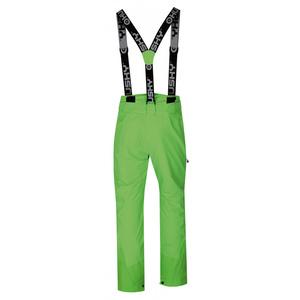 moški smučanje hlače Husky Mitaly M neon zelena, Husky