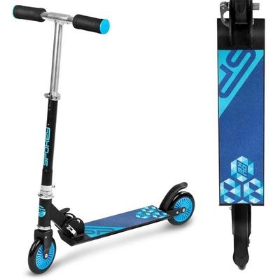 Skuter Spokey DUKE kolesa 125 mm, črna in modra, Spokey