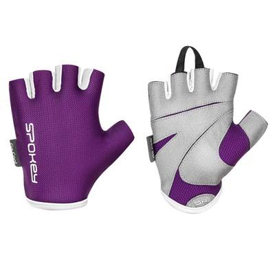 Spokey LADY FIT Ženske fitnes rokavice, vijolična, vel-L, Spokey
