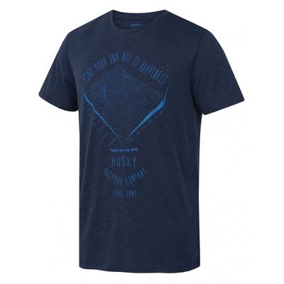 moški majica Husky Tingl M tm. blue, Husky