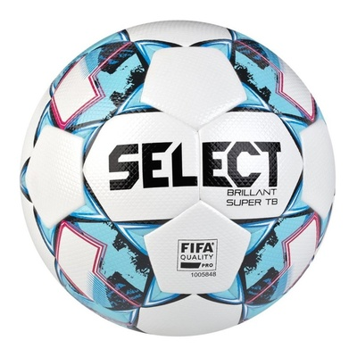 nogomet žoga Select FB Brillant super TB bela blue, Select