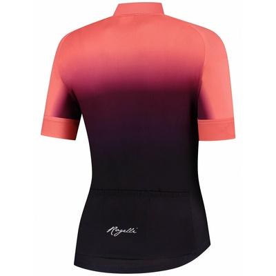 ženski premium cyklodresy Rogelli DREAM z kratko rokav, bordo-koralna 010.093, Rogelli